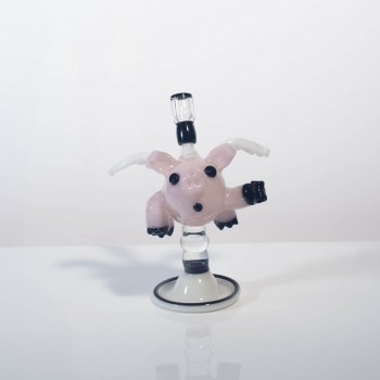 Kwest Glass Flying Pig 10mm Male 45°