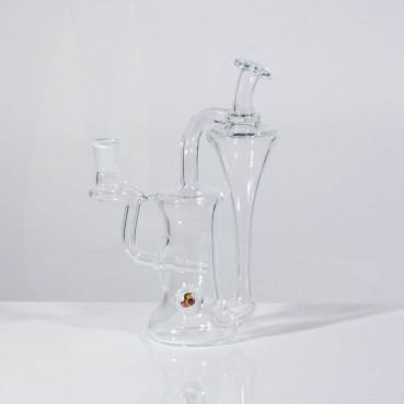 Greenbelt Clear 14mm Recycler w/Millie
