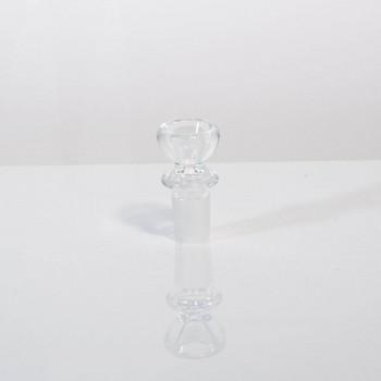 Mobius Glass Single Hole 18mm Slide