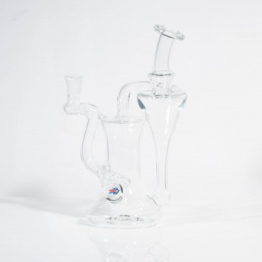 Greenbelt Clear 14mm Recycler w/Bills Millie