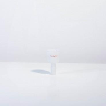 Illadelph New Signature Bell Slide (w new box) - White w/red Logo