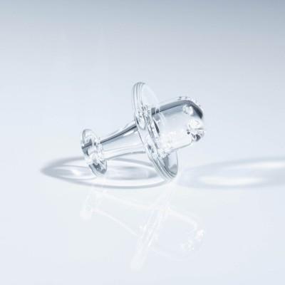 JS Glass Collidor Cap - Clear