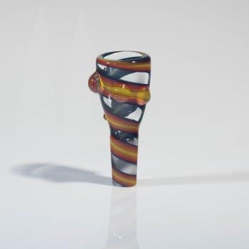 Mah Glass 14mm Slide - Bi Polar