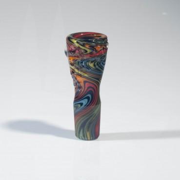 Mah Glass 18mm Slide - Technicolor