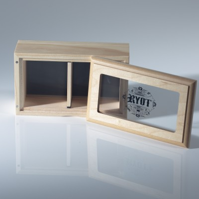 RYOT 4x7 Glass Top Screen Box in Natural