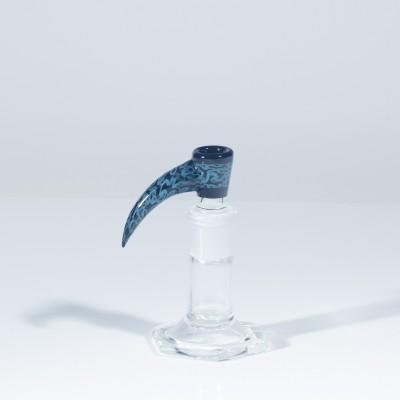 Dangerboy Jr 18mm 2 Hole Slide - Onyx & Aqua