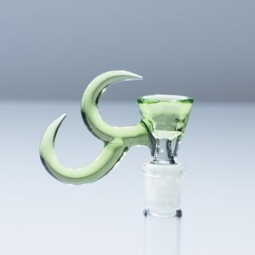 Gump Glass 14mm Double Horn Slide