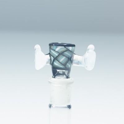 Kirill Korzinski x Intent Glass - Mint Chipstack
