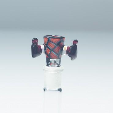 Kirill Korzinski x Intent Glass - Red Chipstack