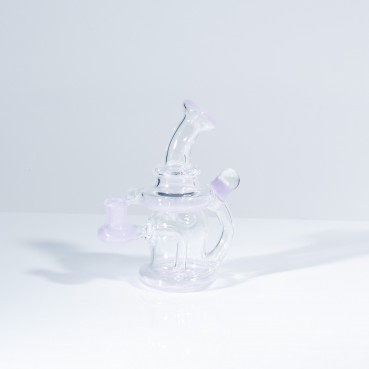 THC Glassworks - Smol Cycler -  Partially Coloured