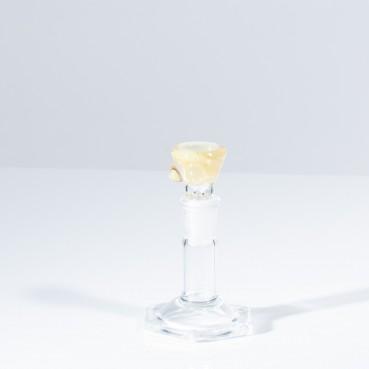 Titz Glass 14mm 1 Hole Boob Slide