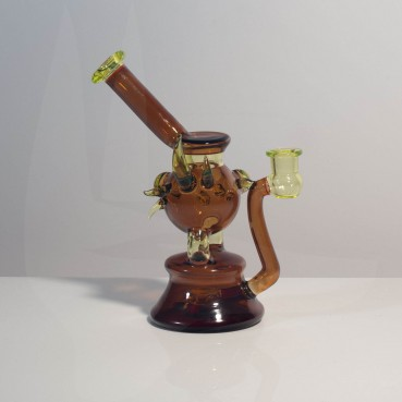 Aaron Culbert Sienna Brown & Illuminati Ball Bubbler
