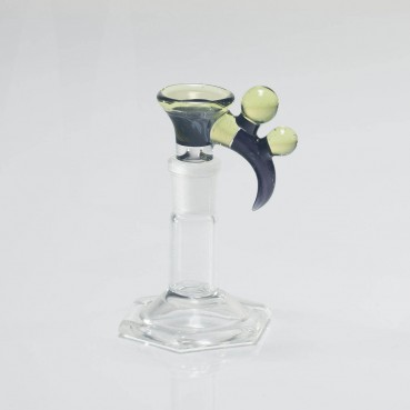 Bando Glass Fume & Crushed Opal Slide 14mm #5
