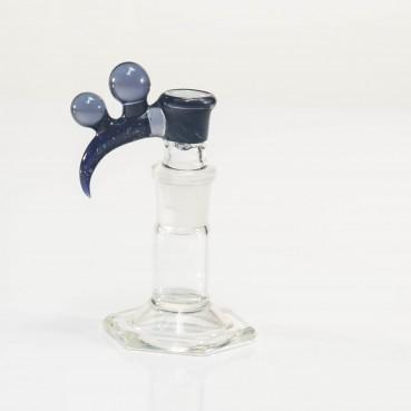Bando Glass Fume & Crushed Opal Slide 18mm 4-Hole #3
