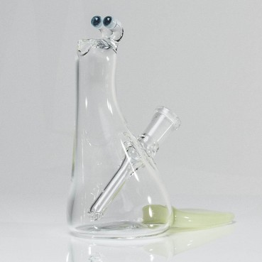 Browski Clear Slug w/ Slime Tail 10mm #10