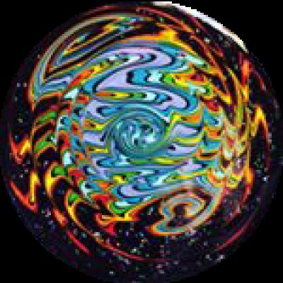 HMK Ball Rig Rainbow Wigwag Disk Mouthpiece Opal Feet / Swing