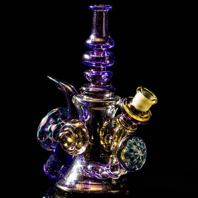 Keshav Serum & Purple Rain Bubbler