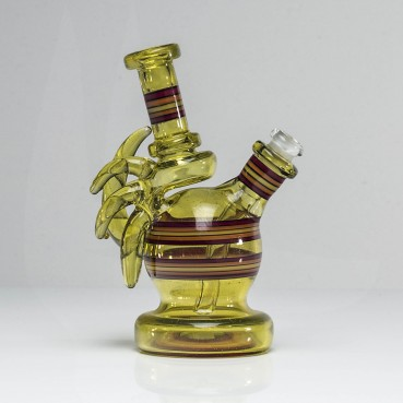 Kwest Glass Terps Double Uptake Horned Ball Rig