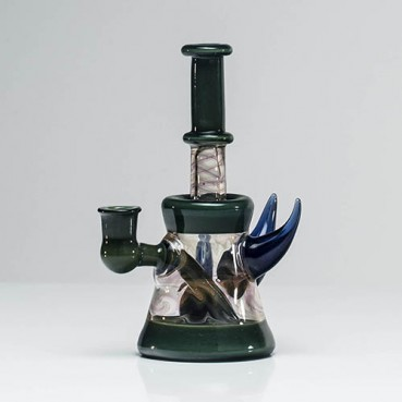 Mimzy Fumed Green Horned Mini