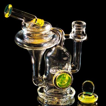 Robinhood Glass Recycler Yellow