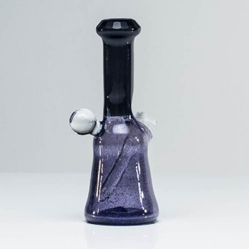 Trikky Glass Faceted Black & Purple Rain Rig