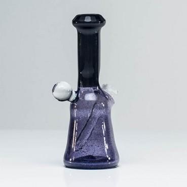 Trikky Glass Faceted Black & Purple Rain Rig