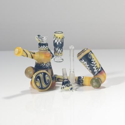Kwest Glass x Tank Glass Set