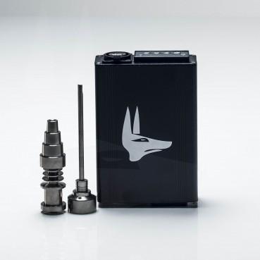 Anubis Vapes E-Nail w/Titanium Domeless Nail Black