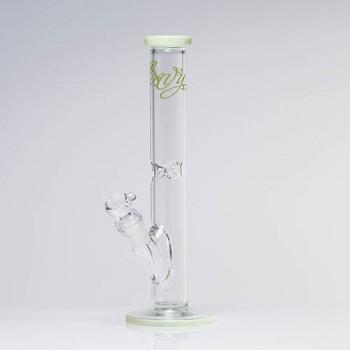 Envy Glass 12 Inch Straight Tube Colour Lip 38mm